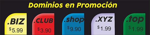 Promociones Agosto dominios